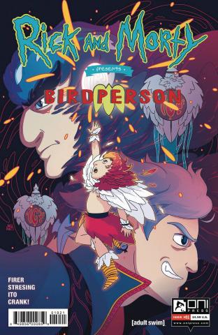 Rick and Morty Presents Birdperson #1 (Trizzino Cover)