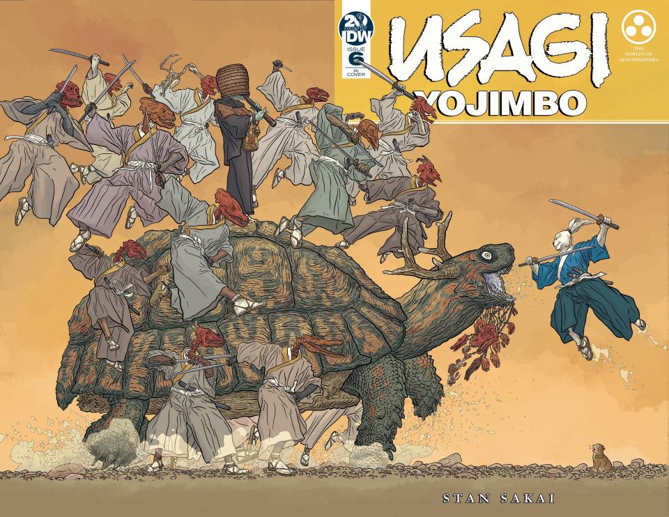 Usagi Yojimbo #6 (25 Copy Darrow Cover)