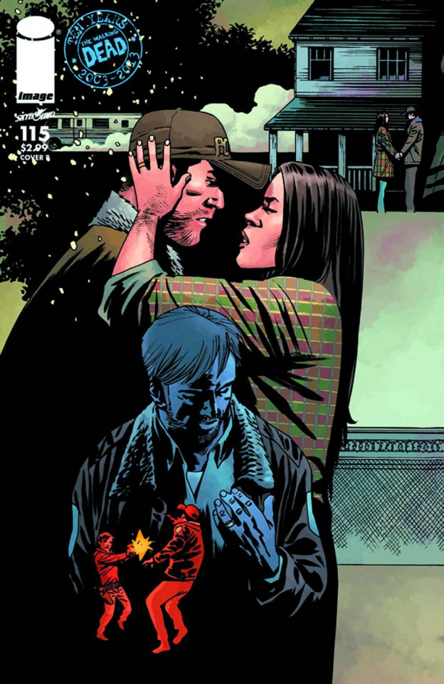 The Walking Dead #115 (Cover B)