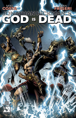 God Is Dead #40 (End of Days Cover)