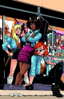 Josie and The Pussycats #2 (Isaacs Cover)