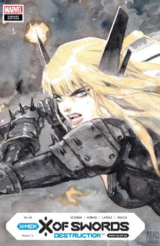 X of Swords: Destruction #1 (Henrichon LCSD Cover)