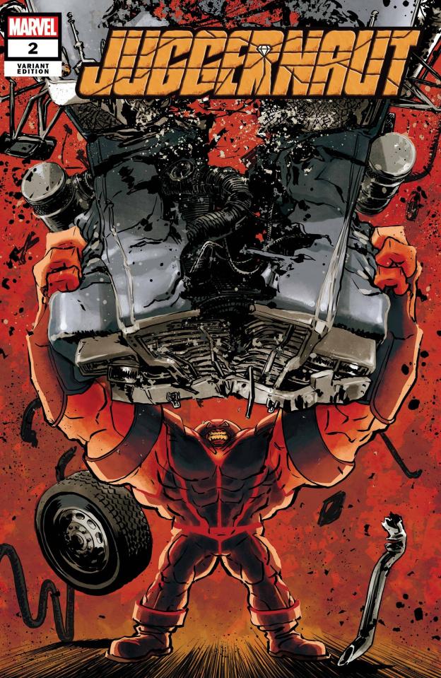 Juggernaut #2 (Superlog Cover)