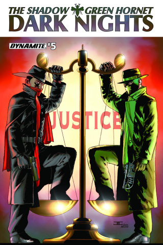 The Shadow / Green Hornet: Dark Nights #5 (Cassaday Cover)