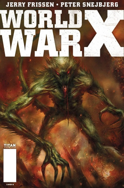 World War X #5 (Percival Cover)