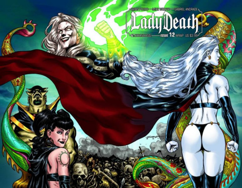 Lady Death #12 (Wrap Cover)