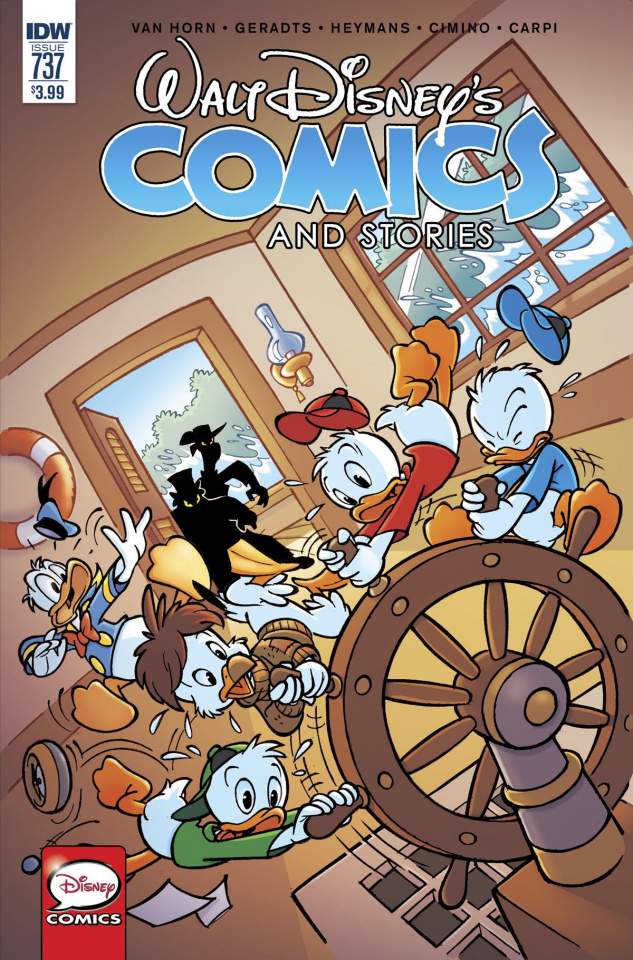 Walt Disney's Comics and Stories #737