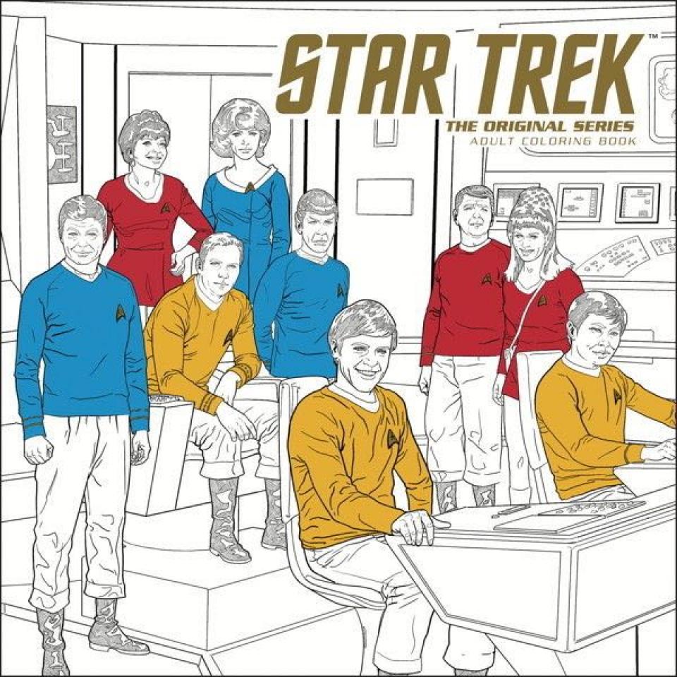 Star Trek: The Original Series Adult Coloring Book Vol. 1