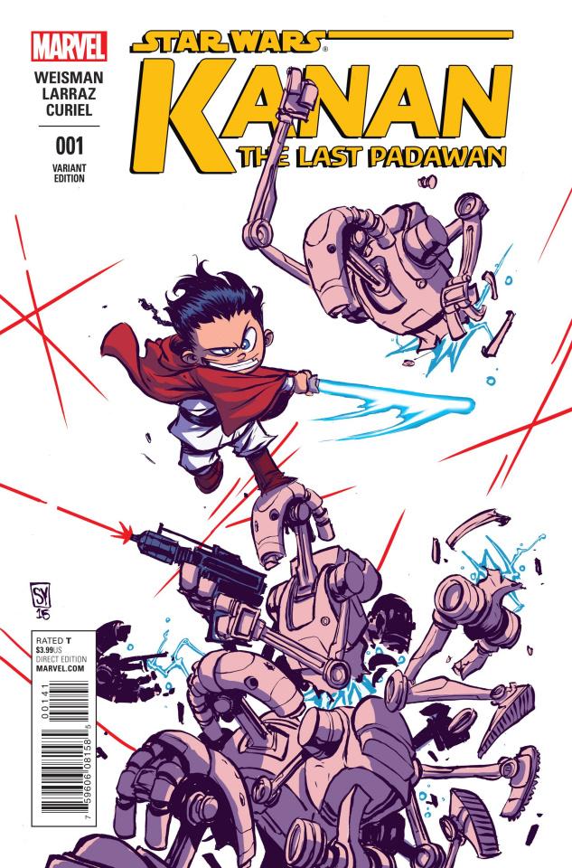 Kanan: The Last Padawan #1 (Young Cover)