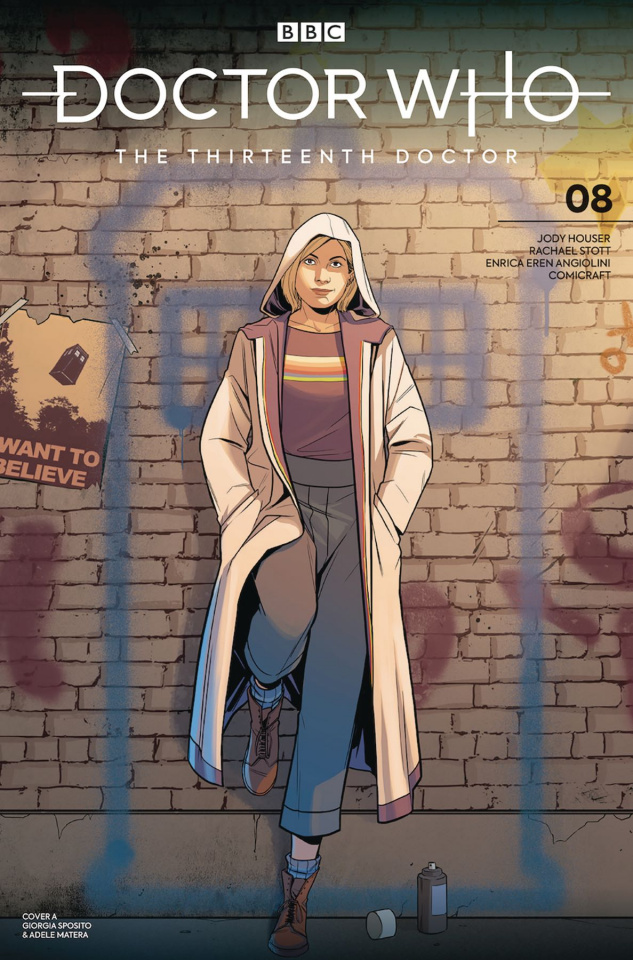 Doctor Who: The Thirteenth Doctor #8 (Sposito Cover)