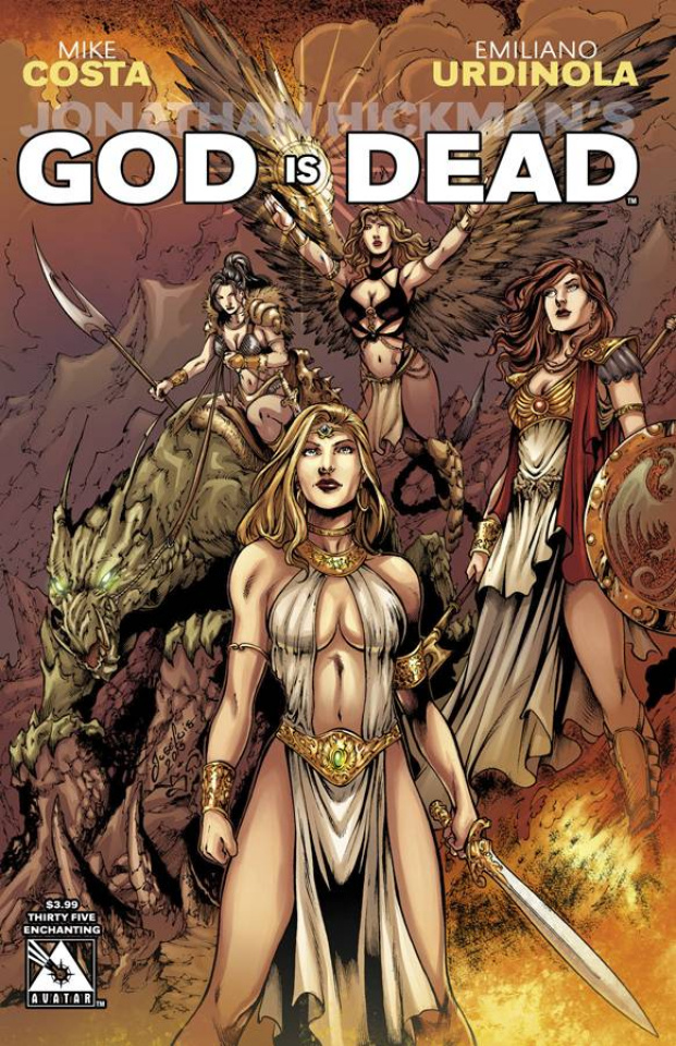 God Is Dead #35 (Enchanting Cover)