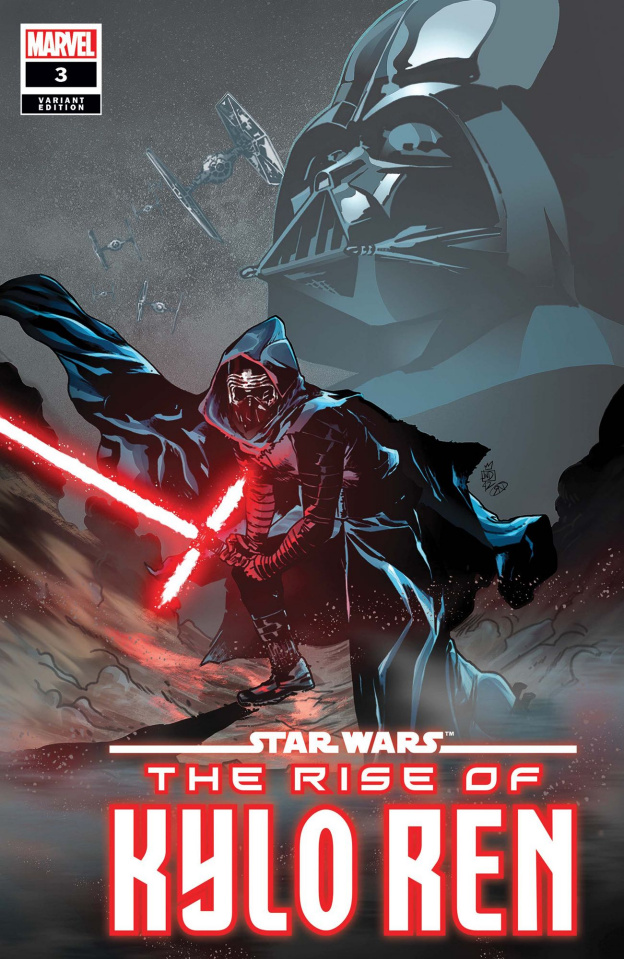 Star Wars: The Rise of Kylo Ren #3 (Landini Cover)