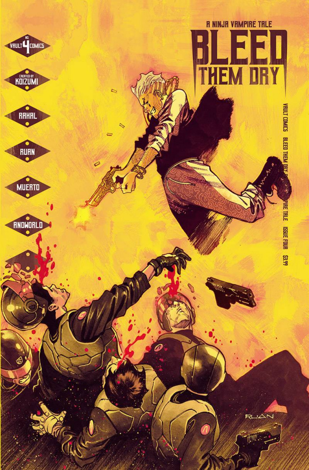 Bleed Them Dry #4 (Ruan Cover)