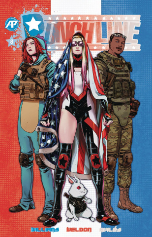 Punchline #8 (Patriotic Cover)