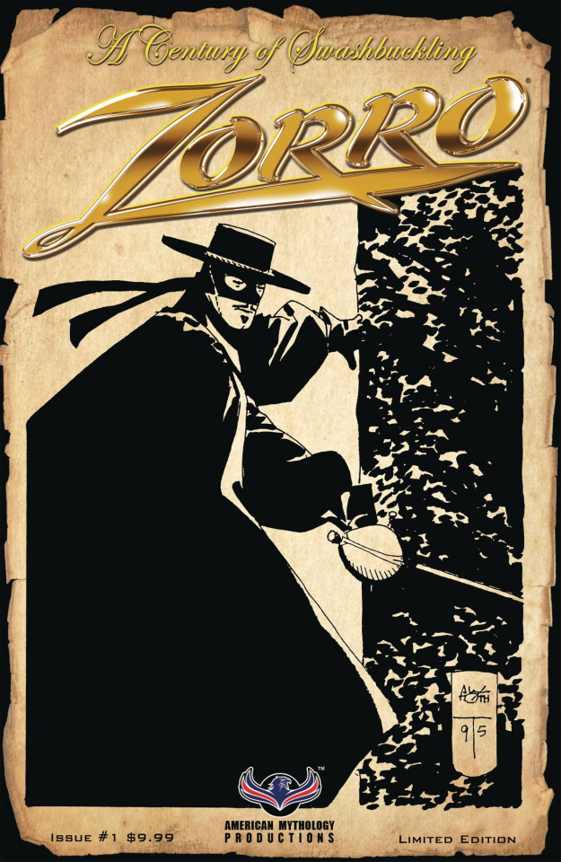Zorro: A Century of Swashbuckling #1 (Toth Cover)
