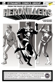Project Superpowers: Hero Killers #2 (20 Copy Cover)