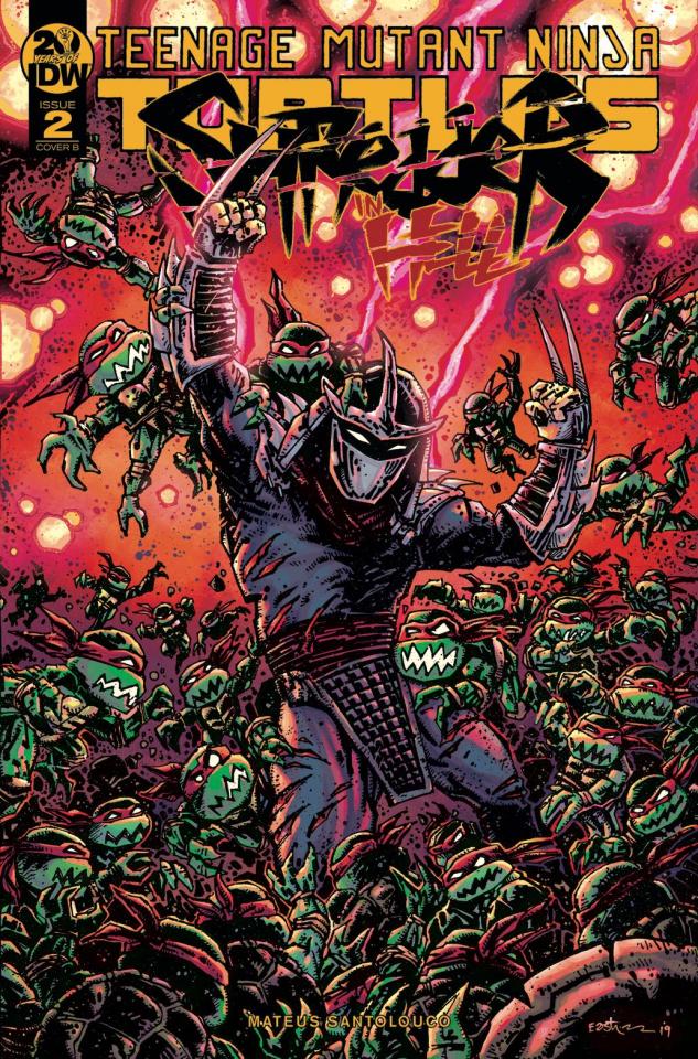 Teenage Mutant Ninja Turtles: Shredder in Hell #2 (Eastman Cover)
