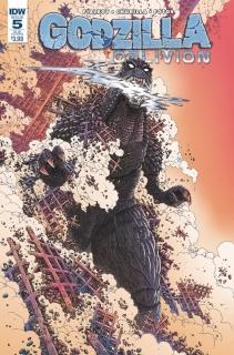 Godzilla: Oblivion #5 (Subscription Cover)