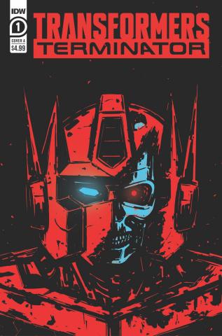 The Transformers vs. The Terminator #1 (Fullerton Cover)