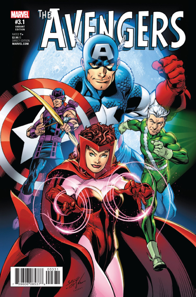 Avengers #3.1 (Bagley Cover)