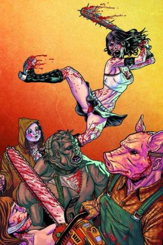 Hack/Slash #16 (Browne Cover)