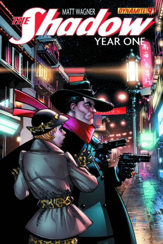 The Shadow: Year One #9 (Chaykin Cover)