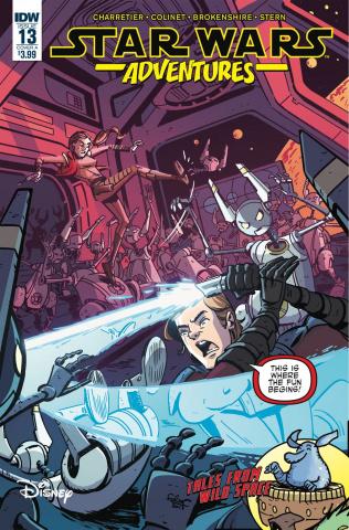 Star Wars Adventures #13 (Charretier Cover)