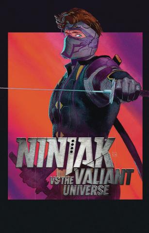 Ninjak vs. The Valiant Universe #2 (Wada Cover)