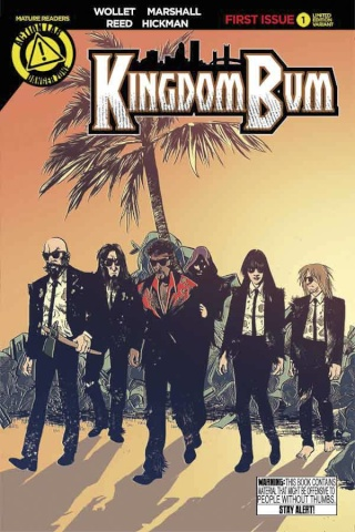 Kingdom Bum #1 (Ciregia Cover)