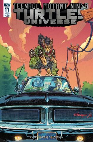 Teenage Mutant Ninja Turtles Universe #11 (Subscription Cover)
