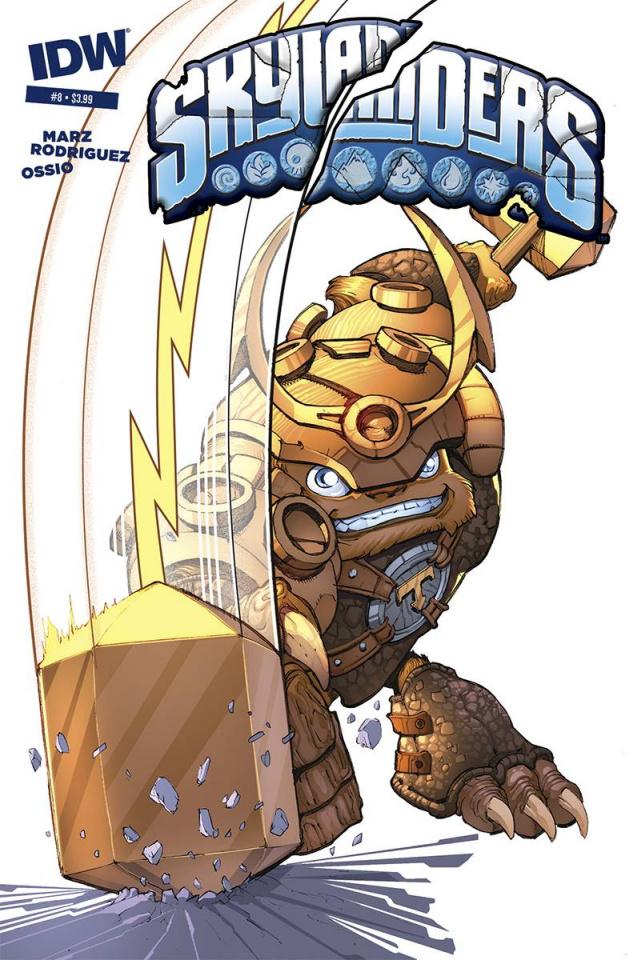 Skylanders #8 (Subscription Cover)
