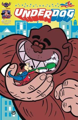 Underdog #3 (Gorilla Grin Cover)