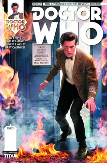 Doctor Who: New Adventures with the Eleventh Doctor #15 (Subscription Photo Cover)