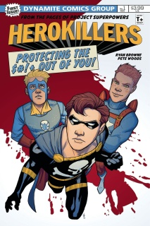 Project Superpowers: Hero Killers #1 (Woods Cover)