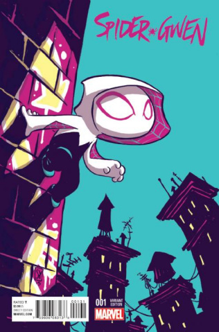 Spider-Gwen #1 (Young Cover)