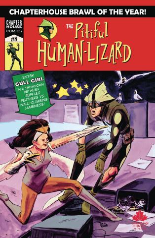 The Pitiful Human Lizard #8 (Loo Cover)