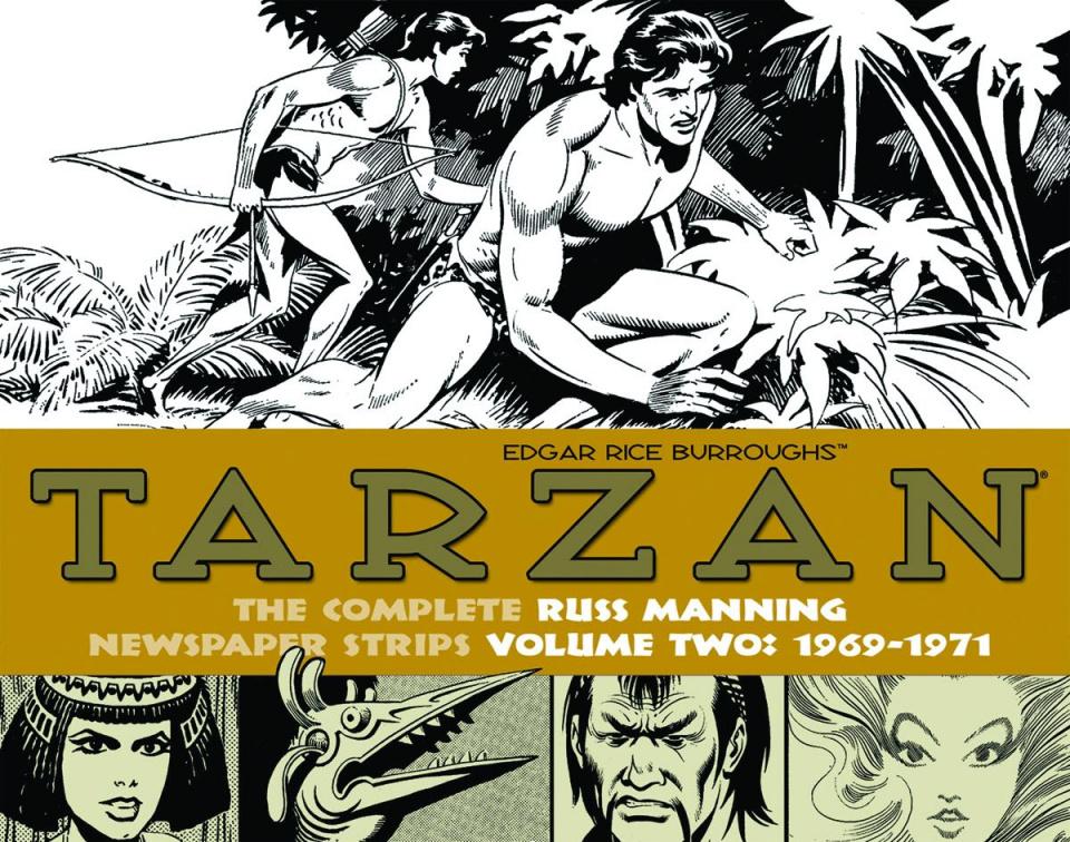 Tarzan: The Complete Russ Manning Newspaper Strips Vol. 2: 1969-1971