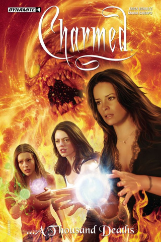 Charmed #4 (Corroney Cover)
