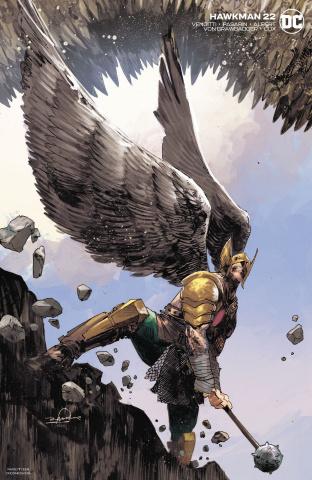 Hawkman #22 (Gerardo Zaffino Cover)