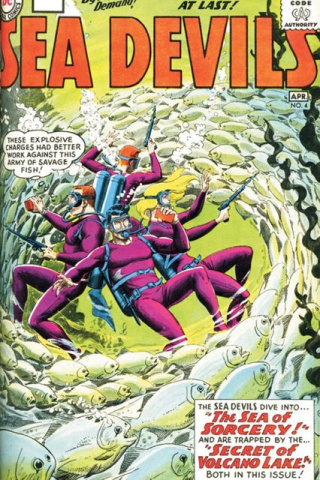Showcase Presents: Sea Devils Vol. 1