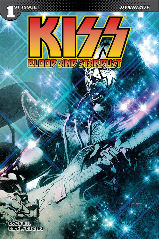 KISS: Blood and Stardust #1 (Sayger Spaceman Cover)