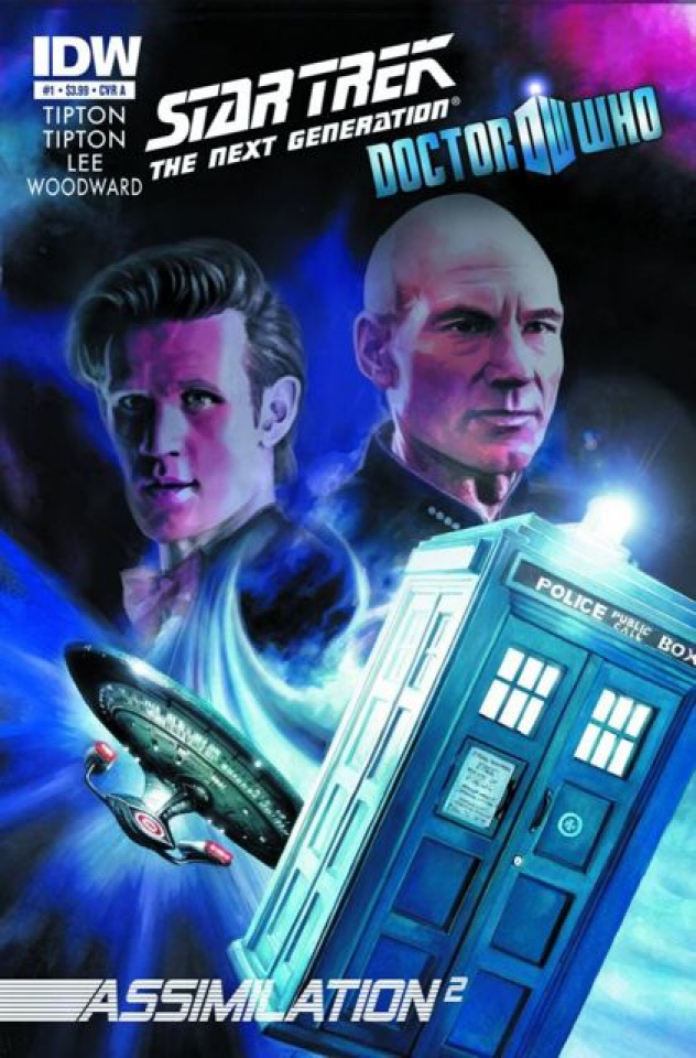 Star Trek: The Next Generation/Doctor Who - Assimilation #1