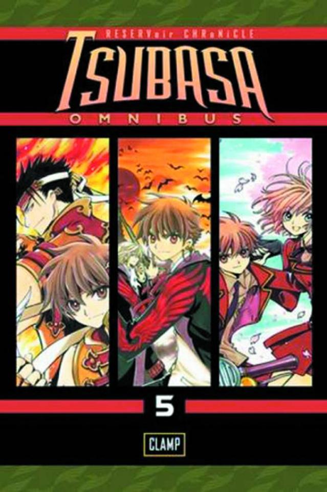 Tsubasa Vol. 5 (Omnibus)