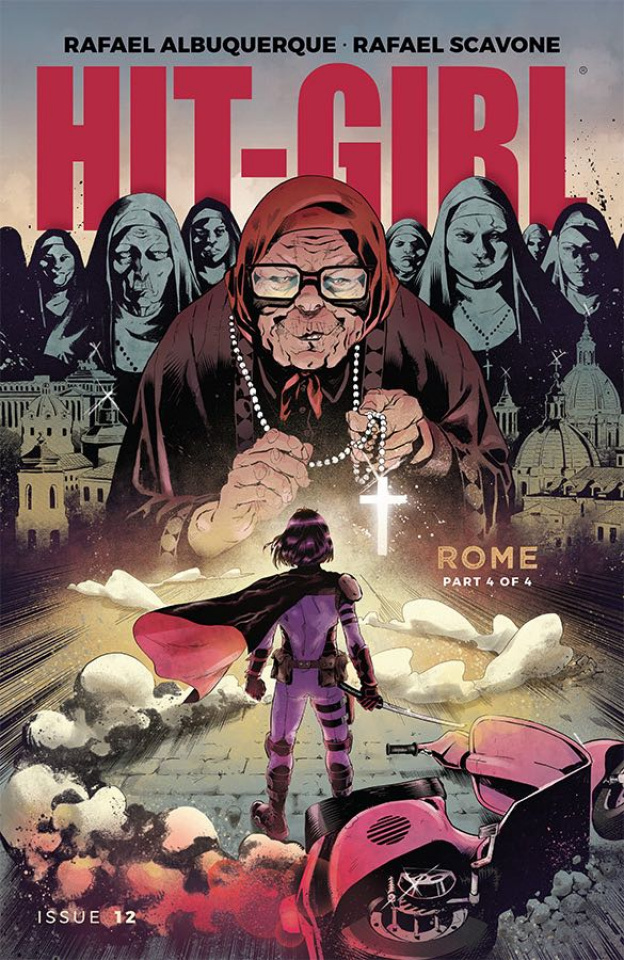 Hit-Girl #12 (Roe Cover)