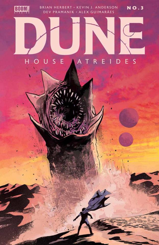 Dune: House Atreides #3 (Lee Cover)