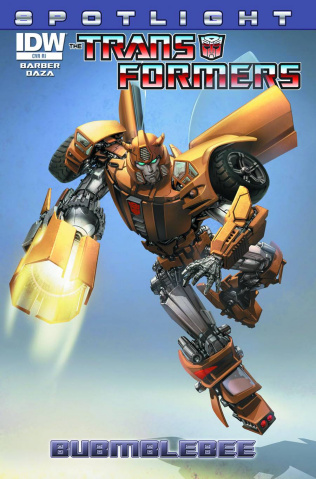 The Transformers Spotlight: Bumblebee #1 (10 Copy Cover)