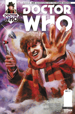 Doctor Who: New Adventures with the Fourth Doctor #4 (Wheatley Cover)