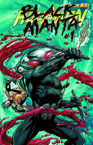 Aquaman #23.1: Black Manta Standard Cover