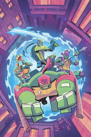 Rise of the Teenage Mutant Ninja Turtles: Sound Off #3 (Thomas Cover)