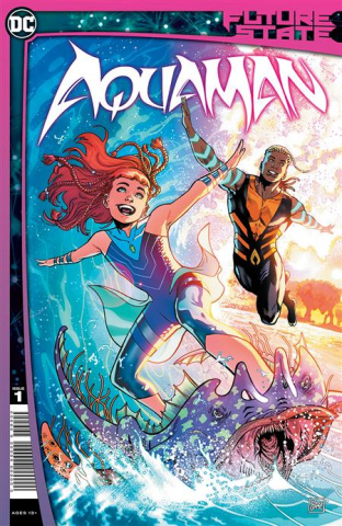 Future State: Aquaman #1 (Daniel Sampere Cover)